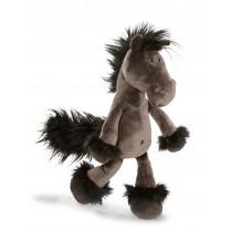Nici plush horse, black, 50 cm