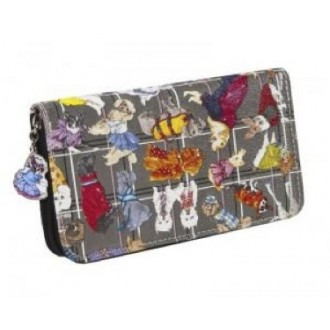 Diva Dogs Zip Around Wallet