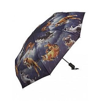 Raining Cats & Dogs folding umbrella