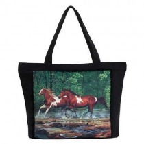 Spring Creek Run tote bag