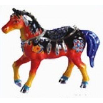 Aztec Horse Trinket Box