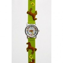 Children's watch - green