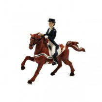 Dressage Rider & Horse trinket box