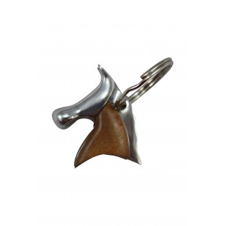 Horse Keyring with Bayong Wood Feature