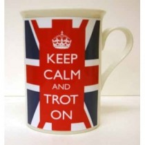 Keep Calm & Trot On mug