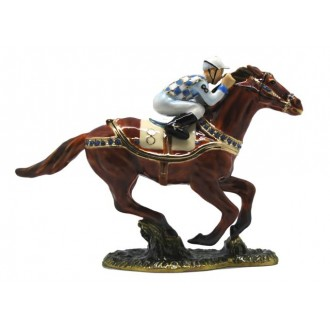 Racehorse trinket box