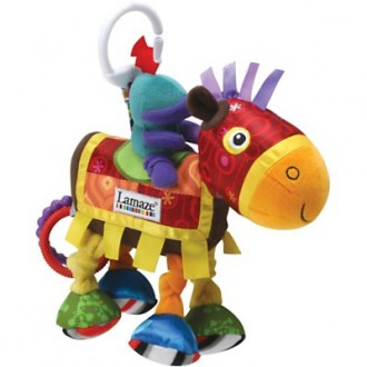 Lamaze Sir Prance-a-lot pram toy