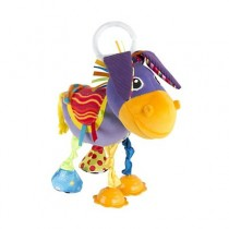 Lamaze Squeezy the Donkey pram toy