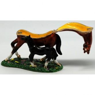 Mare & Foal trinket box