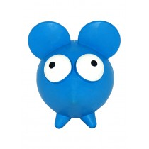 Goggle Blue Mouse Dog Toy