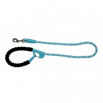 Snap and Stay dog leash Aqua