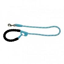 Snap and Stay dog leash Aqua