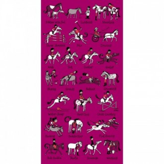 horse Riding towel