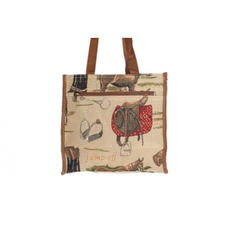 Tapestry horse shopping bag