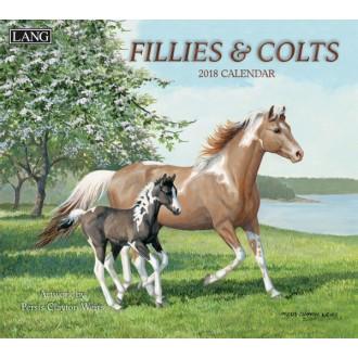 Lang 2018 Fillies and Colts wall calendar
