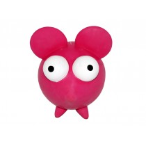 Goggle Pink Mouse Dog Toy